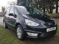 USED 2015 15 FORD GALAXY 2.0 ZETEC TDCI 5d AUTO 138 BHP