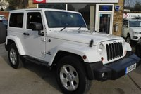 USED 2013 13 JEEP WRANGLER 2.8 CRD OVERLAND 2d AUTO 197 BHP