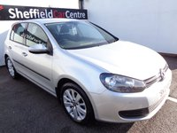 2012 VOLKSWAGEN GOLF 2.0 MATCH TDI BLUEMOTION TECHNOLOGY 5d 138 BHP £6675.00