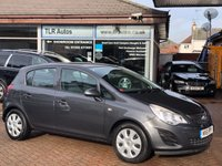 USED 2012 61 VAUXHALL CORSA 1.2 EXCLUSIV A/C 5d 83 BHP Free MOT for Life