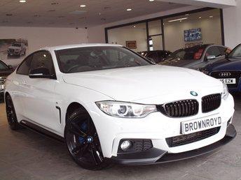 2015 BMW 4 SERIES 2.0 420D XDRIVE M SPORT 2d AUTO 181 BHP £17990.00