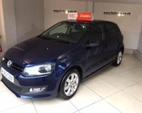 2013 VOLKSWAGEN POLO MATCH £SOLD
