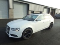 2012 AUDI A4 2.0 AVANT TDI SE TECHNIK 5d 141 BHP SAT NAV PAN ROOF LEATHER £8391.00