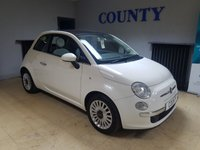 USED 2011 11 FIAT 500 1.2 LOUNGE 3d 69 BHP * TWO OWNERS * FULL HISTORY *