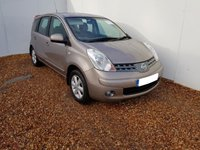 2008 NISSAN NOTE 1.6 ACENTA 5d 109 BHP £2999.00