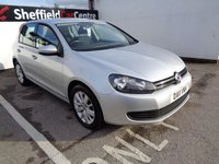 USED 2011 11 VOLKSWAGEN GOLF 1.6 MATCH TDI BLUEMOTION TECHNOLOGY 5d 103 BHP £149 A MONTH BLUETOOTH DAB RADIO FULL SERVICE HISTORY CRUISE CONTROL PRIVACY GLASS ALLOY WHEELS AIR CON