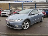 USED 2008 57 HONDA CIVIC 1.8 I-VTEC TYPE-S GT 3d 139 BHP