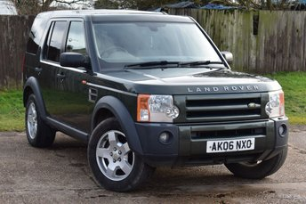 2006 LAND ROVER DISCOVERY 2.7 3 TDV6 S 5d AUTO 188 BHP £4500.00