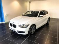USED 2014 14 BMW 1 SERIES 1.6 116I SPORT 3d 135 BHP LOW MILEAGE / SERVICE PACK