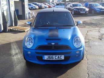 2007 MINI CONVERTIBLE 1.6 COOPER S 2d 168 BHP HUGE SPEC SPECIAL FACTORY COLOUR ORDER £4995.00
