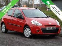 2010 RENAULT CLIO 1.1 EXTREME 3d 74 BHP £2495.00