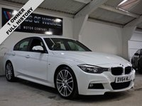 2014 BMW 3 SERIES 2.0 320D M SPORT 4d 181 BHP £15480.00