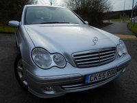 2005 MERCEDES-BENZ C CLASS 1.8 C180 KOMPRESSOR ELEGANCE SE 4d AUTO 141 BHP ** ONE OWNER FROM NEW, YES ONLY 67K , FULL LEATHER ,ABSOLUTELY STUNNING EXAMPLE ** £4495.00