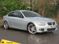 USED 2012 12 BMW 3 SERIES 2.0 320D SPORT PLUS EDITION 2d 181 BHP FULL HEATED LEATHER AND SATELLITE NAVIGATION