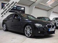 2015 BMW 3 SERIES 2.0 320D M SPORT 4d 188 BHP £14580.00