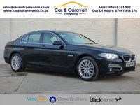 USED 2015 15 BMW 5 SERIES 2.0 520D LUXURY 4d 188 BHP One Owner Full Dealer History Buy Now, Pay Later Finance!
