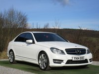 USED 2014 S MERCEDES-BENZ C CLASS 2.1 C250 CDI AMG SPORT EDITION 4d AUTO 202 BHP