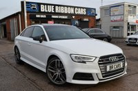 USED 2016 66 AUDI S3 2.0 S3 QUATTRO 4d AUTO 306 BHP PAN ROOF, SUPERSPORTS SEATS