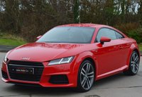 USED 2015 15 AUDI TT 2.0 TDI ULTRA S LINE 2d 184 BHP ** UPGRADED ALLOY WHEELS ** ** PCP DEALS AVAILABLE**