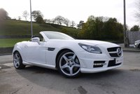 USED 2013 63 MERCEDES-BENZ SLK 2.1 SLK250 CDI BLUEEFFICIENCY AMG SPORT 2d AUTO 204 BHP
