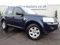 2012 LAND ROVER FREELANDER 2.2 TD4 GS 5d 150 BHP £9795.00