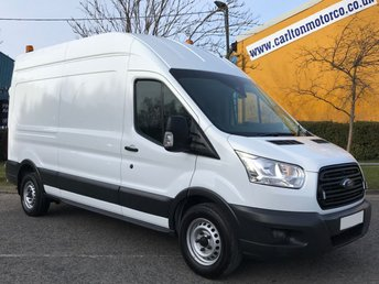 2016 FORD TRANSIT 2.2 350 TDCi 125 L3 H3 LWB HI-ROOF A/C + SAT NAV / INTERNAL RAMP  £9950.00