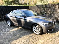USED 2016 66 BMW 2 SERIES 1.5 218I SE 2d AUTO 134 BHP SAT NAV / AUTOMATIC