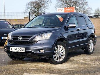 2011 HONDA CR-V 2.2 I-DTEC EX 148 BHP £8950.00