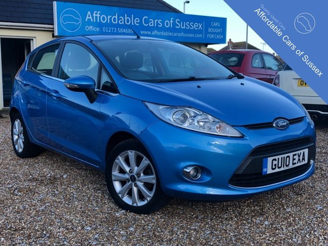 2010 10 FORD FIESTA 1.2 ZETEC 5 door