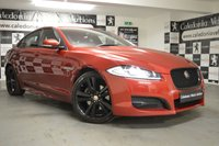 USED 2015 15 JAGUAR XF 2.2 D R-SPORT BLACK 4d AUTO 200 BHP BEAUTIFULLY PRESENTED IN ITALIAN RACING RED with BLACK LEATHER & ULTRA LOW MILEAGE, THIS CAR COMES WITH 12 MONTHS MOT, SERVICE HISTORY & 6 MONTHS WARRANTY AS STANDARD