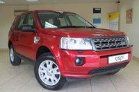 2012 LAND ROVER FREELANDER 2.2 TD4 XS 5d AUTO 150 BHP £11950.00