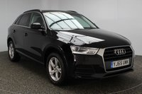 USED 2015 65 AUDI Q3 2.0 TDI SE 5DR 148 BHP 1 OWNER £30 ROAD TAX SERVICE HISTORY + £30 12 MONTHS ROAD TAX + PARKING SENSOR + BLUETOOTH + CRUISE CONTROL + CLIMATE CONTROL + MULTI FUNCTION WHEEL + ELECTRCI WINDOWS + ALLOY WHEELS