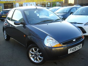 2008 FORD KA 1.3 ZETEC CLIMATE CLOTH 3d 69 BHP £2195.00
