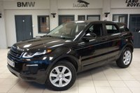 USED 2017 66 LAND ROVER RANGE ROVER EVOQUE 2.0 TD4 SE TECH 5d AUTO 177 BHP full Landrover service history FINISHED IN STUNNING SANTORINI BLACK WITH FULL LEATHER SEATS + FULL LAND ROVER SERVICE HISTORY + SATELLITE NAVIGATION + XENON HEADLIGHTS + 18 INCH ALLOYS + HEATED SFRONT SEATS + BLUETOOTH + DAB RADIO + CRUISE CONTROL...