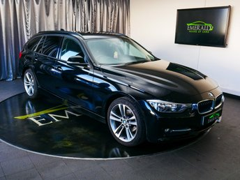 2013 BMW 3 SERIES 2.0 316D SPORT TOURING 5d 114 BHP £9300.00