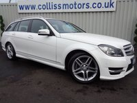 2013 MERCEDES-BENZ C CLASS 2.1 C250 CDI BLUEEFFICIENCY AMG SPORT 5d 202 BHP £12995.00