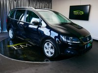 USED 2013 13 SEAT ALHAMBRA 2.0 CR TDI ECOMOTIVE SE 5d 140 BHP £0 DEPOSIT FINANCE AVAILABLE, 7 SEATS, AIR CONDITIONING, AUX INPUT, BLUETOOTH CONNECTIVITY, CLIMATE CONTROL, CRUISE CONTROL, ELECTRONIC PARKING BRAKE WITH AUTO HOLD, PARKING SENSORS, START/STOP SYSTEM, STEERING WHEEL CONTROLS, TRIP COMPUTER, TYRE PRESSURE MONITOR, VOICE ACTIVATED CONTROLS