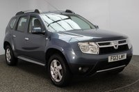 USED 2013 13 DACIA DUSTER 1.5 LAUREATE DCI 4WD 5DR 109 BHP FULL SERVICE HISTORY FULL SERVICE HISTORY + BLUETOOTH + AIR CONDITIONING + RADIO/CD + ELECTRIC WINDOWS + ELECTRIC MIRRORS + 16 INCH ALLOY WHEELS