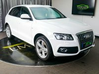 USED 2012 12 AUDI Q5 2.0 TDI QUATTRO S LINE PLUS 5d 168 BHP £0 DEPOSIT FINANCE AVAILABLE, AIR CONDITIONING, AUDI MULTIMEDIA, AUTOMATIC HEADLIGHTS, CRUISE CONTROL, DUAL ZONE CLIMATE CONTROL, DAYTIME RUNNING LIGHTS, ELECTRONIC PARKING BRAKE, FULL LEATHER UPHOLSTERY, PARKING SENSORS, START/STOP SYSTEM, STEERING WHEEL CONTROLS, TRIP COMPUTER