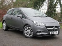 USED 2016 16 VAUXHALL CORSA 1.4 SE ECOFLEX 3d  **TOUCHSCREEN INCLUDING BLUETOOTH**