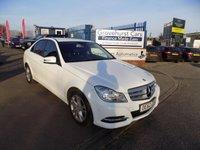 USED 2012 62 MERCEDES-BENZ C CLASS 2.1 C220 CDI BLUEEFFICIENCY EXECUTIVE SE 4d AUTO 168 BHP
