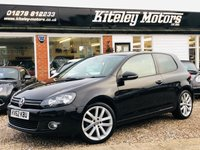 USED 2012 62 VOLKSWAGEN GOLF 2.0 GT TDI 193bhp LEATHER & NAVIGATION