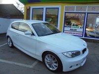 USED 2008 08 BMW 1 SERIES 2.0 118D M SPORT 3d 141 BHP