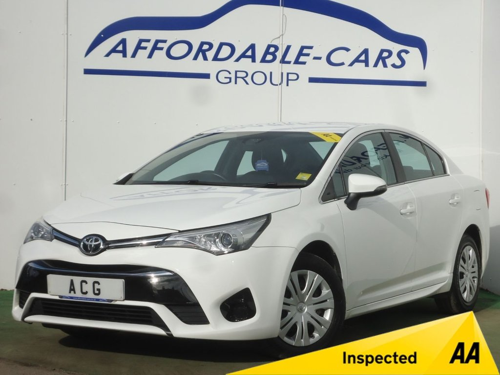 USED 2016 66 TOYOTA AVENSIS 1.6 D-4D ACTIVE 4d 110 BHP