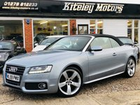 USED 2009 59 AUDI A5 2.0 TFSI S LINE 211BHP CONVERTIBLE