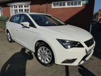2015 SEAT LEON 1.6 TDI SE TECHNOLOGY BUSINESS 5d 110 BHP Very Good Spec Car £9300.00