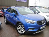 USED 2017 17 VAUXHALL MOKKA X 1.4 DESIGN NAV 5d AUTO 138 BHP ANY PART EXCHANGE WELCOME, COUNTRY WIDE DELIVERY ARRANGED, HUGE SPEC