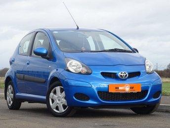2010 TOYOTA AYGO 1.0 BLUE VVT-I 5d 67 BHP £2500.00