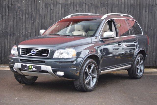 2013 63 VOLVO XC90 2.4 D5 R-DESIGN NAV AWD 5d AUTO 200 BHP