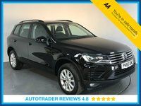 USED 2015 65 VOLKSWAGEN TOUAREG 3.0 V6 ESCAPE TDI BLUEMOTION TECHNOLOGY 5d AUTO 259 BHP EURO 6 - SERVICE HISTORY - 1 OWNER - SAT NAV - FULL LEATHER - PARKING SENSORS - BLUETOOTH - AIR CON